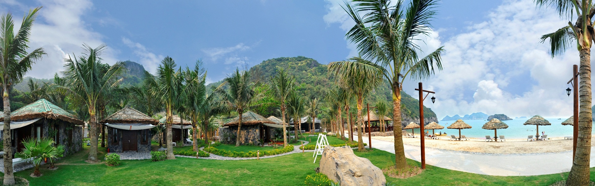 Canh quan Cat Ba Beach Resort